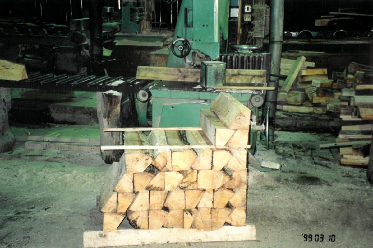Clefts in the old Slazenger workshop