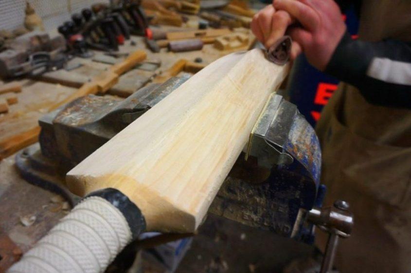 Hand sanding a refurb